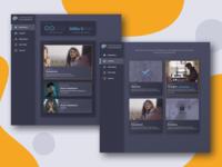 Student Interface for digital mindfulness training program