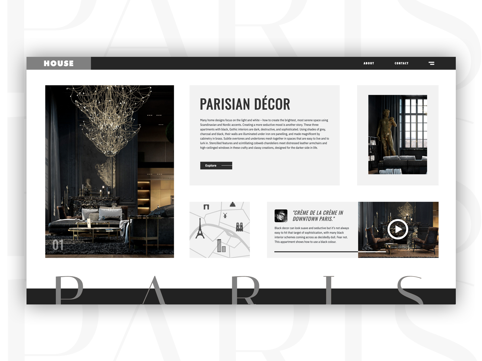 Housing Webdesign Grey Color Pallet By Tai Tang On Dribbble
