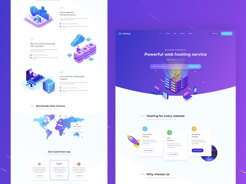 Isometric Web Hosting and WHMCS  Template webhosting whmcs startup vps hosting reseller hosting hosting html domain parking domain listing business hosting web hosting technology isometric hosting template hosting host domain website domain dedicated server cloud server cloud hosting