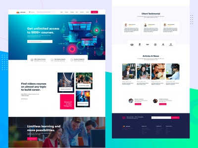 InfixLMS - Learning Management System user interface design lms application lms template infixlms lms
