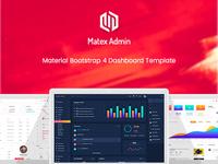 Matex Admin Template