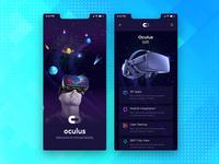 VR Mobile App Concept