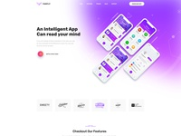 Farfly - Creative App & SAAS Landing HTML5 Template