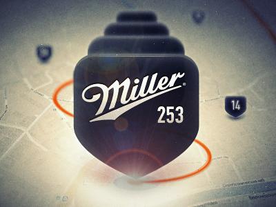 Miller Party Pin