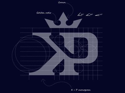 K + P monogram