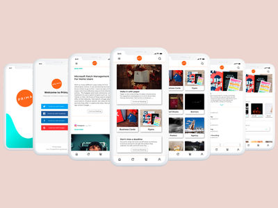 Print Shop App Concept