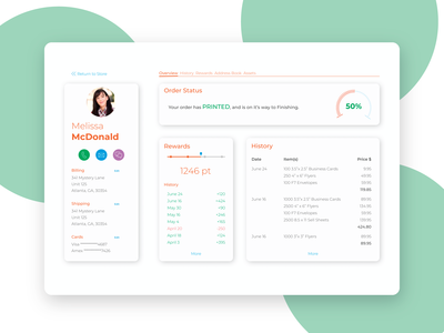 Daily UI - #006 - User Profile