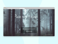 Daily UI - #008 - 404 Page