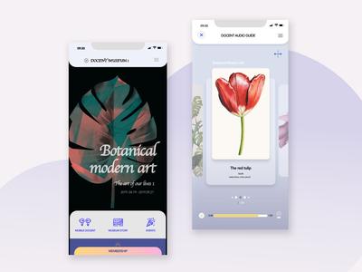 Docent museum App