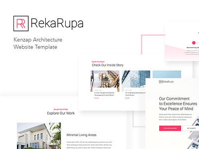 Architecture and Interior Design WordPress Theme achitecture