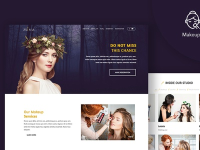 Beautify - WordPress Theme for Beauty Saloon gutenberg wordpress theme saloon beauty