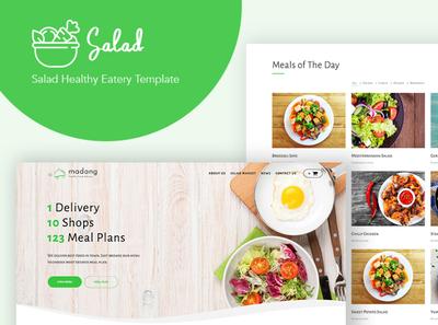 Salad - WordPress Theme for Nutritionist