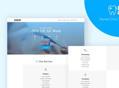 Dental Clinic - WordPress Theme for Dentistry