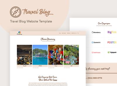 Travel Blog - WordPress Theme for Traveling Stories