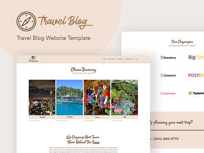Travel Blog - WordPress Theme for Traveling Stories gutenberg design travel wordpress theme