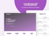Webconf - WordPress Theme for Conference Events