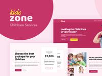 Kids Zone - WordPress Theme for Childcare