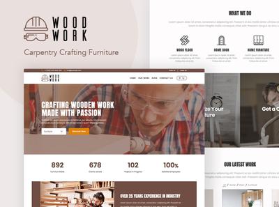 WoodWork - WordPress Theme for Carpentry