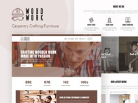 WoodWork - WordPress Theme for Carpentry