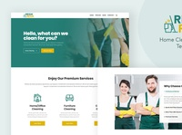 Resik - WordPress Theme for Cleaning Services
