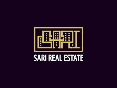 sari logo modern interior negativespace geometic geometric geometry company construction building negative space real estate realestate symbol minimal branding icon mark logo