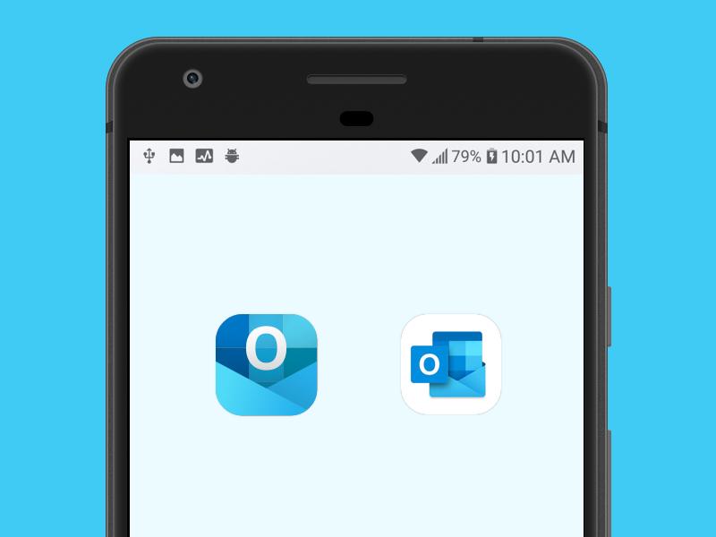 Redesign Outlook App Icon for Mobile by Hoan Do on Dribbble