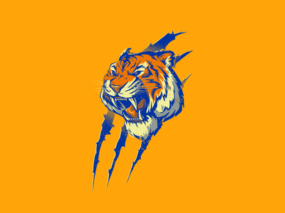 Aguerridos aguerridos tiger illustration