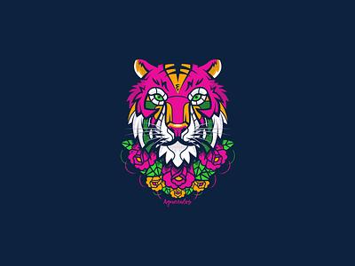 Aguerridos 2 aguerridos tiger illustration