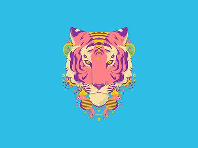 Aguerridos 4 aguerridos tiger illustration