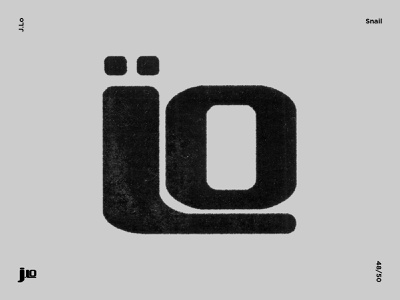 Snail illustrator modernist logo modernism modernart brandmark trademark logomark branding identity symbol marks mark vectorart logodesigner graphicdesign illustration contemporaryart contemporary snail
