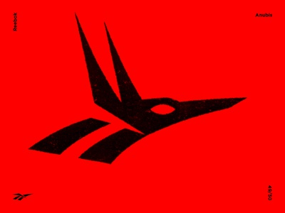 Anubis vectorart illustrator modernart modernism symbol mark marks branding identity symbolism illustration brandmark logomark trademark logodesigner graphicdesign contemporary art contemporary reebok anubis