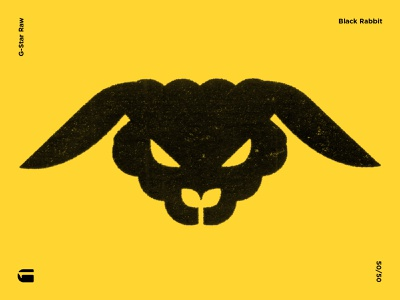 Black Rabbit logodesign sign logo logodesigner brandmark logomark trademark symbol gstar marks mark symbolism illustration graphicdesign modernart modernist modernism contemporaryart contemporary rabbit