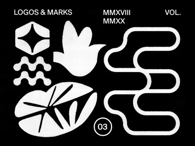 Logos & Marks Collection .03 logotype minimal brand identity identity design logomark brandmark branding graphicdesign illustration marks symbol mark sign logo
