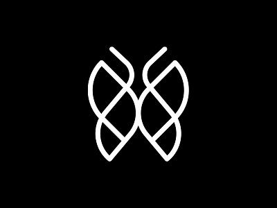 Ashley Halley graphic design design logotype identity branding brand identity identity design brandmark minimal butterfly logo icon symbol mark logo butterfly
