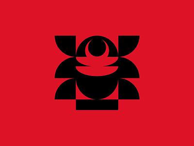 Engetsu Consulting logotype typography minimalism minimal identity logomark branding brandmark symbol sign mark icon logo mask helmet samurai japanese japan cyber security security