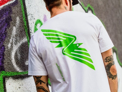 Raven T-Shirt trademark bird minimalism tshirt sport raven icon artwork shop merch minimal print graphic design design logomark mark sign logo illustration symbol