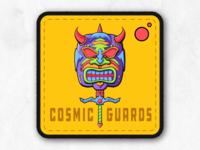 Cosmic Guards Badge