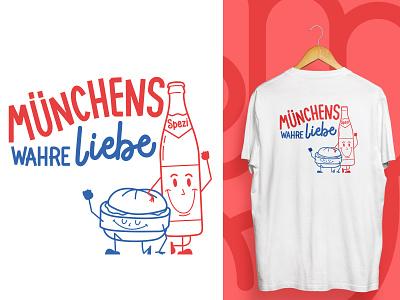 Münchens wahre Liebe foodblog food merchandise shirts münchen spezi leberkäse leberkäse leberkas munich