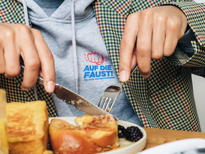 Münchens wahre Liebe Hoodie breakfast food photography french toast frenchtoast münchen