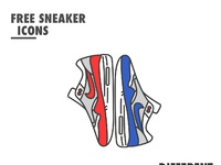 Free sneaker icons behance