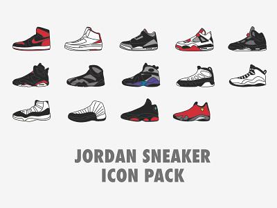 Jordan Icons Dribbbleshot munich freebie free flat line icon icons sneaker basketball jordan nike