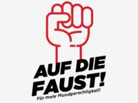 Auf die Faust Logo