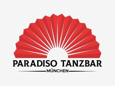 Paradiso Tanzbar Redesign fan red club party club paradiso design logo illustration
