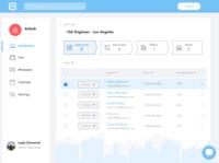 Design Challenge: Recruiter Dashboard
