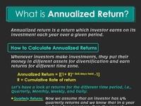 Anualized Return in Australian Stock Market