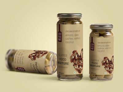 Foodmart branding design