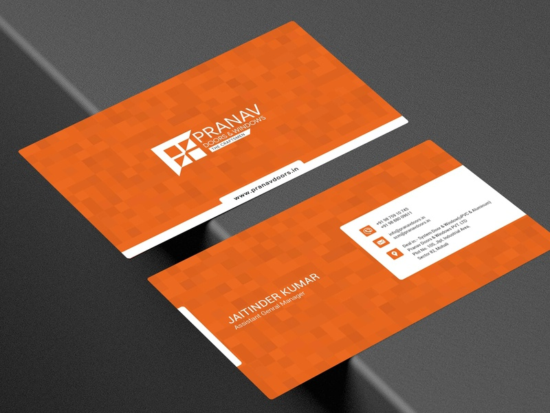 Visiting Card attractive identity card identity branding visiting card branding design