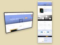 Portfolio single page website