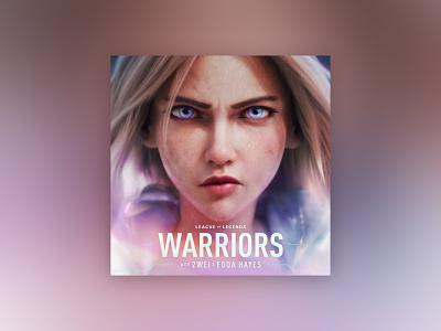 WARRIORS —Artwork visual design typography album art creative direction art direction