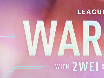 WARRIORS —Type Closeup compositing visual design typography